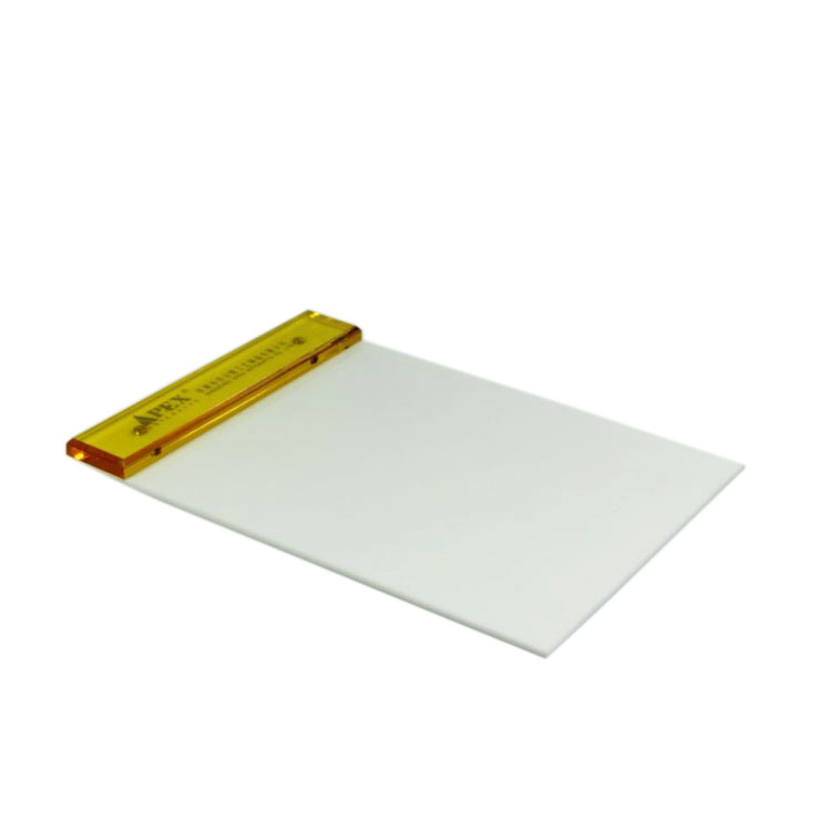 Cheap Personalized Acrylic White Plastic Clipboard