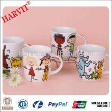 Tasse à café en céramique de 11 oz Enfants