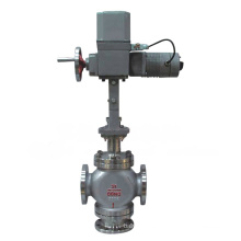 Válvula de control de desvío eléctrico de tres vías (GZDLX)