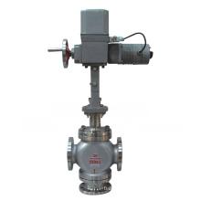 Válvula de controle de desvio de três vias elétrica (GZDLX)