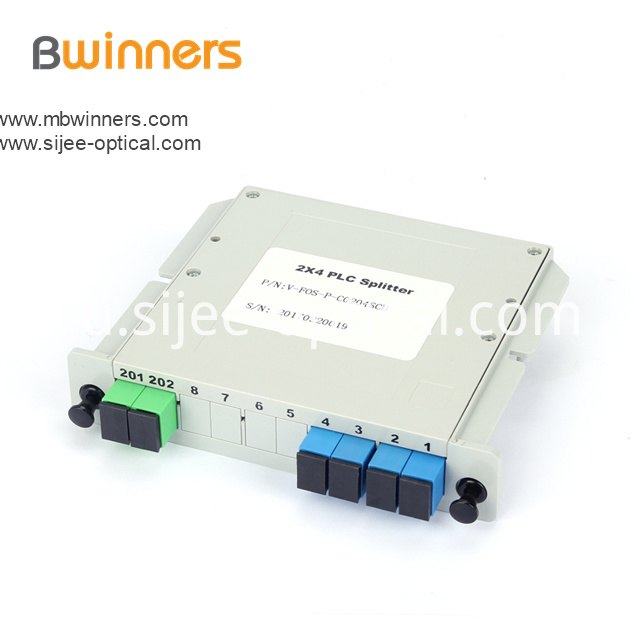 Insertion Module 2x4 Plc Splitter Scapc Connector