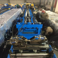 Steel purlin c channel rolling machine