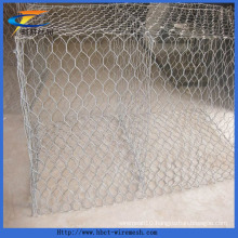 Hexagonal Wire Netting Galvanized Gabion Box