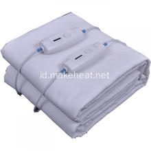 Cotton Pemanasan ganda Under Blanket 220-240V