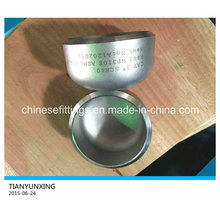 Asme Sch40 Pipe Fittings Seamless Stainless Steel Caps
