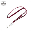 1.0X90cm Bulk Tube Card Holder Lanyard with White Plastic Badge Reel for Teenagers