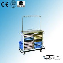 Chariot / chariot multifonction médical pour médecine médicale (P-12)