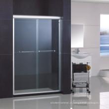 Desvio de porta do chuveiro / tela do chuveiro com revestimento Nano de fácil limpeza de lado duplo