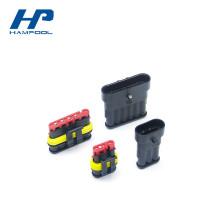 Connecteur transparent d'épissure de fil de soudure de matière de HDPE
