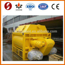 js hot selling horizontal laboratory concrete mixer pump