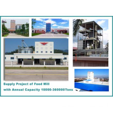 Complete Poultry Feed Mill Plant (5-45t/h)
