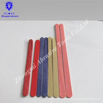 Archivo de uñas de madera desechable / Lima de uñas pulida