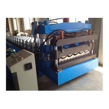 Rollo de panel de techo de azulejo esmaltado galvanizado que forma la máquina