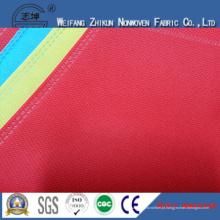 Tela não tecida diferente das cores 100% PP para sacos de compras / sacos dos presentes