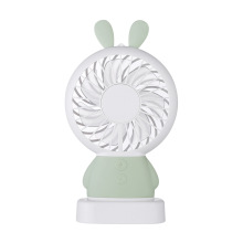 Rechargeable Handheld USB Portable Mini Fan With LED