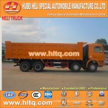SHACMAN DELONG Marke F3000 Kabine 50.000kg 8X4 Hochleistungs-Kipper LKW in China gute Qualität gemacht.