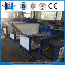 Película de plástico peletizado / máquina de reciclaje de residuos