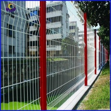 Cheapest Factory for Triangle 3D Fence PVC Coated welded Triangle Fence supply to Guinea Importers