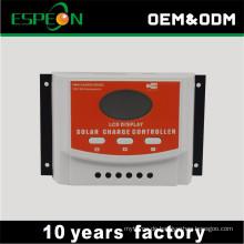 Longyang Lieferant von OEM mit USB DC 12V 24V 10A 20A 30A 40A 50A 60A Solarladeregler Solarregler