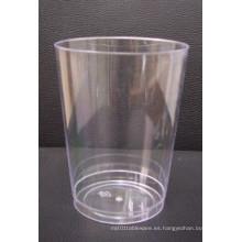 10oz vaso de plástico transparente beber copas de PS copa de vino