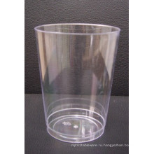 10 унций тумблер прозрачный пластик питьевой PS чашки вино стекла