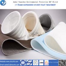 Saco de filtro não tecido acrílico do coletor de poeira para a planta do asfalto da mistura