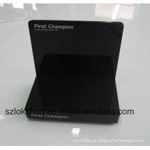 Impressora de tela de seda Acrílico Counter Point of Sales Display Unit