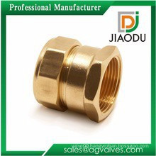 Taizhou manufacture DN6 or DN 8 or DN10 or DN15 forged C26130 good quality brass push in quick fittings