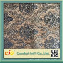 2016 New Pattern Design Chenille Sofa Stoff für Polsterung