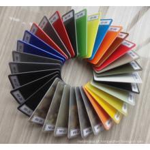 Colorido Multi-Colored Folha G10 para o punho da faca