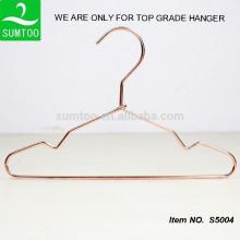 copper clothing hanger