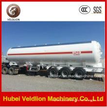 56m3 / 56cbm / 56000L / 56000liter Propan Tri-Axle LPG Tank Auflieger