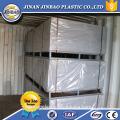 "jinbao 48""x96"" 1/2 1/4 inches 12mm 6mm grey white PVC rigid plastic"