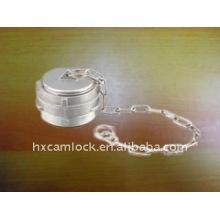 bouchon de couplage guillemin avec loquet avec chaîne