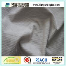 100% полиэфирная полоса бархатная трикотажная матовая ткань
