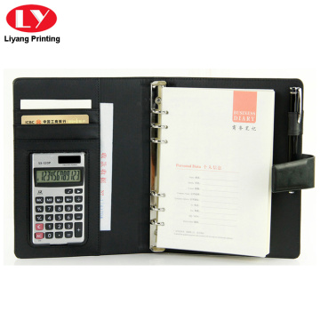 Notebook business wordpad con pulsante di chiusura