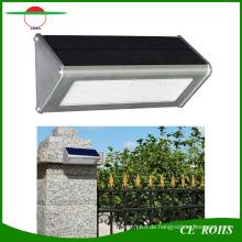 Dauerhafte Qualitäts-Aluminiummikrowellen-Radar-Bewegungs-Sensor 48LED 1000lm Solarlampe IP65 im Freien Solar-LED-Wand-Licht