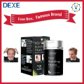 Dexe hair fiber powder instant hair thickening fibers with hair fiber applicator