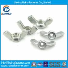 DIN315 углеродистая сталь оцинкованная крыла гайка крепление