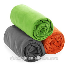 import dyed microfiber blanket