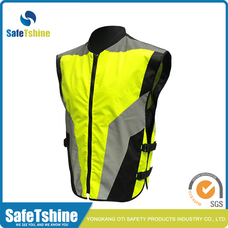 Motorcycle Vest with Adjustable Buckles