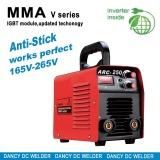 Mini IGBT welder 2014 new design anti stick ARC 250A