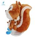 Милые игрушки персонажей животных белка