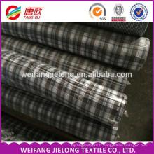 100% coton fil teint tissé tissu de lot de shirting TC fil teint chiné shirting tissu stocklot tissu en Chine