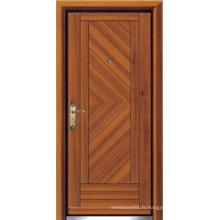 Porte blindée en bois d'acier de style turc (LTK-D303)