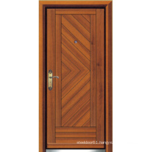 Turkish Style Steel Wooden Armored Door (LTK-D303)