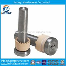 Parafuso de soldadura de aço inoxidável 304, conector de cisalhamento