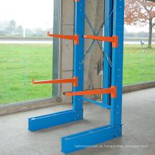 Dupla face venda quente cantilever armazenamento rack / longo item de armazenamento solução