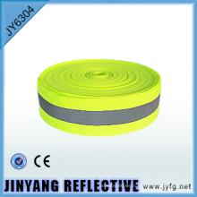Sola cara alta visibilidad poliester coser cinta impresa