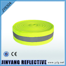 Polyester adhesive tape printed webbing reflective fabric ribbon